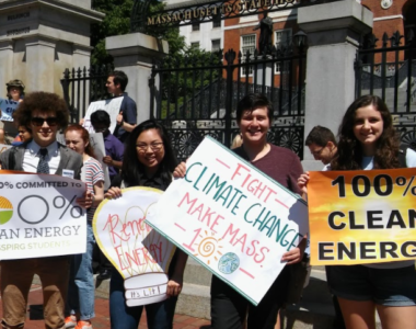 Youth organizations voice support for 100% renewable energy commitment