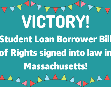 MASSPIRG praises final passage of key bill to protect student loan borrowers